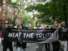 MEAT THE TRUTH in Veggie Pride Parade